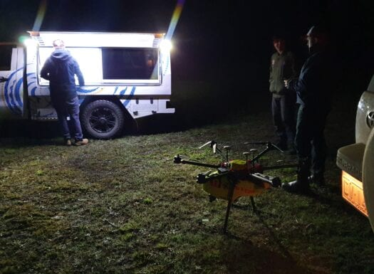 thermal imaging drone ripper group